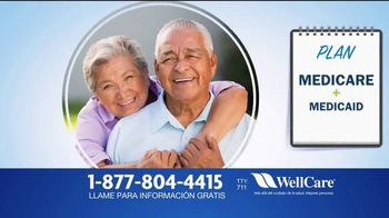 WellCare Health Plans Medicare Advantage TV Spot, 'Más cobertura' [Spanish]