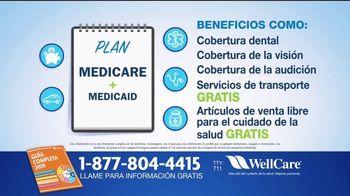 WellCare Health Plans Medicare Advantage TV Spot, 'Más cobertura' [Spanish] - Thumbnail 2