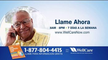 WellCare Health Plans Medicare Advantage TV Spot, 'Más cobertura' [Spanish] - Thumbnail 5