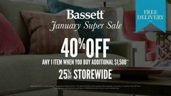 Bassett January Super Sale TV Spot, 'One Item' - Thumbnail 9