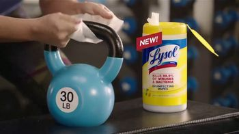 Lysol Disinfecting Wipes TV Spot, 'Crazy Strong' - Thumbnail 4