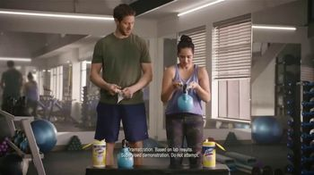 Lysol Disinfecting Wipes TV Spot, 'Crazy Strong' - Thumbnail 7