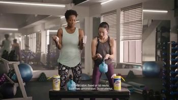 Lysol Disinfecting Wipes TV Spot, 'Crazy Strong' - Thumbnail 8