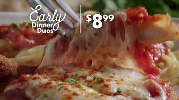 Olive Garden Early Dinner Duos TV Spot, 'Value'