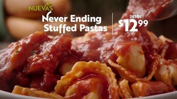 Olive Garden Never Ending Stuffed Pastas TV Spot, 'Never Better' [Spanish] - Thumbnail 3