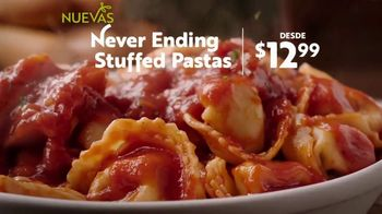 Olive Garden Never Ending Stuffed Pastas TV Spot, 'Never Better' [Spanish] - Thumbnail 4