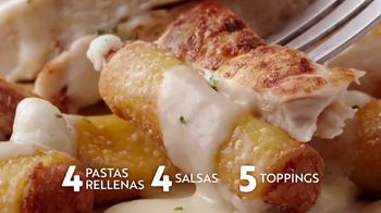 Olive Garden Never Ending Stuffed Pastas TV Spot, 'Never Better' [Spanish] - Thumbnail 6