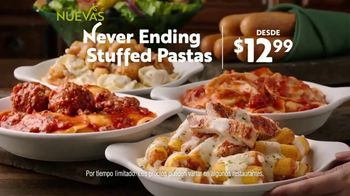Olive Garden Never Ending Stuffed Pastas TV Spot, 'Never Better' [Spanish] - Thumbnail 7