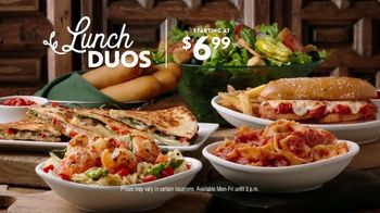 Olive Garden Lunch Duos TV Spot, 'Get In: Pasta Bowls' - Thumbnail 10