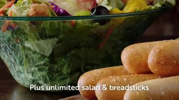 Olive Garden Early Dinner Duos TV Spot, 'Everyday Value' - Thumbnail 7