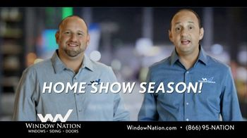 Window Nation Special Home Show Offer TV Spot, 'Home Show Season' - Thumbnail 1
