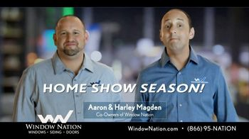 Window Nation Special Home Show Offer TV Spot, 'Home Show Season' - Thumbnail 2