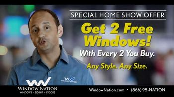 Window Nation Special Home Show Offer TV Spot, 'Home Show Season' - Thumbnail 5