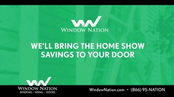 Window Nation Special Home Show Offer TV Spot, 'Home Show Season' - Thumbnail 6