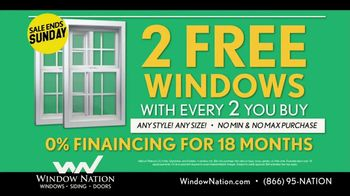 Window Nation Special Home Show Offer TV Spot, 'Home Show Season' - Thumbnail 7