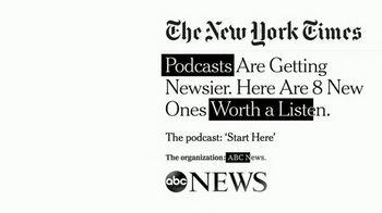 ABC News Start Here Podcast TV Spot, 'Worth a Listen' - Thumbnail 2