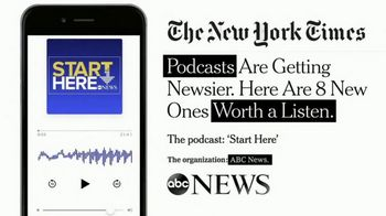 ABC News Start Here Podcast TV Spot, 'Worth a Listen'