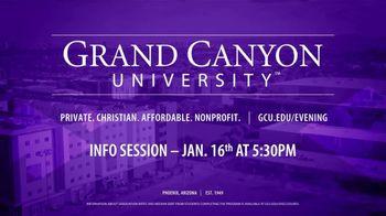 Grand Canyon University TV Spot, 'Evening Programs' - Thumbnail 10