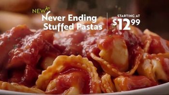 Olive Garden Never Ending Stuffed Pastas TV Spot, 'Never Better'