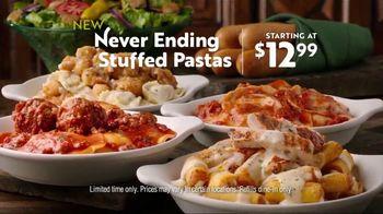 Olive Garden Never Ending Stuffed Pastas TV Spot, 'Never Better' - Thumbnail 9