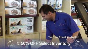Relax the Back Clearance Sale TV Spot, 'Prevent and Relieve Pain' - Thumbnail 1