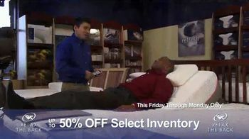 Relax the Back Clearance Sale TV Spot, 'Prevent and Relieve Pain' - Thumbnail 4