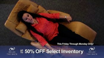 Relax the Back Clearance Sale TV Spot, 'Prevent and Relieve Pain' - Thumbnail 6