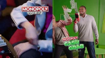 Monopoly TV Spot, 'Cheaters and Cash Grab Editions' - Thumbnail 1