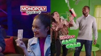 Monopoly TV Spot, 'Cheaters and Cash Grab Editions' - Thumbnail 2