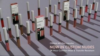 CoverGirl Outlast All-Day Lip Color TV Spot, 'Outlast Happens Once' Featuring Ayesha Curry - Thumbnail 10