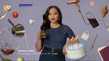 CoverGirl Outlast All-Day Lip Color TV Spot, 'Outlast Happens Once' Featuring Ayesha Curry - Thumbnail 8
