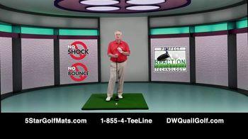 5 Star Golf Mats TV Spot, 'Next Generation' Featuring Martin Hall - Thumbnail 8