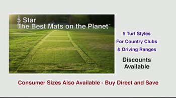 5 Star Golf Mats TV Spot, 'Next Generation' Featuring Martin Hall - Thumbnail 2