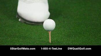 5 Star Golf Mats TV Spot, 'Next Generation' Featuring Martin Hall - Thumbnail 6