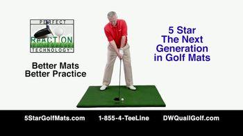 5 Star Golf Mats TV Spot, 'Next Generation' Featuring Martin Hall - Thumbnail 7