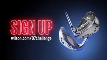 Wilson Staff D7 Irons TV Spot, 'Distance Meets Precision'