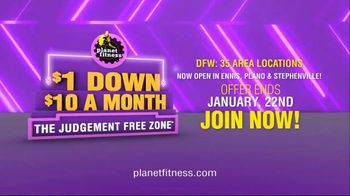 Planet Fitness TV Spot, 'It's Back: $1 Down' - Thumbnail 10