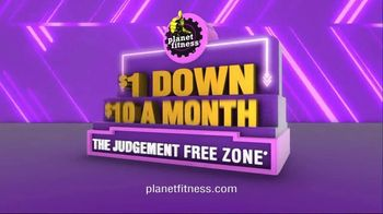 Planet Fitness TV Spot, 'It's Back: $1 Down' - Thumbnail 8