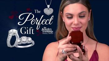 Jewelry Exchange Valentine's Day Specials TV Spot, 'Saphire, Ruby and Diamond Pendants' - Thumbnail 1