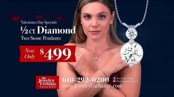Jewelry Exchange Valentine's Day Specials TV Spot, 'Saphire, Ruby and Diamond Pendants' - Thumbnail 3
