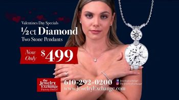 Jewelry Exchange Valentine's Day Specials TV Spot, 'Saphire, Ruby and Diamond Pendants' - Thumbnail 4