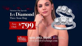 Jewelry Exchange Valentine's Day Specials TV Spot, 'Saphire, Ruby and Diamond Pendants' - Thumbnail 5
