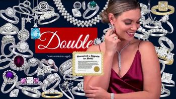 Jewelry Exchange Valentine's Day Specials TV Spot, 'Saphire, Ruby and Diamond Pendants' - Thumbnail 9