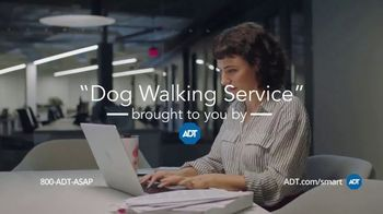 ADT Smart Security TV Spot, 'Stuck at Work: Dog Walking Service' - Thumbnail 10