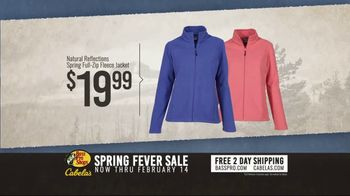 Bass Pro Shops Spring Fever Sale TV Spot, 'Fleece Jackets and Hiking Boots' - Thumbnail 3