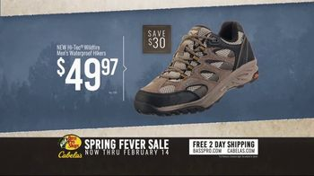 Bass Pro Shops Spring Fever Sale TV Spot, 'Fleece Jackets and Hiking Boots' - Thumbnail 4