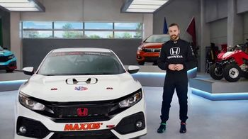 Honda Dream Garage Spring Event TV Spot, 'CR-V and HR-V' Featuring James Hinchcliffe [T2] - 630 commercial airings
