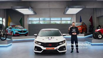 Honda Dream Garage Spring Event TV Spot, 'CR-V and HR-V' Featuring James Hinchcliffe [T2] - Thumbnail 1