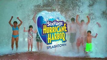 Six Flags Park Opening Season Pass Sale TV Spot, 'Hurricane Harbor Splashtown' - Thumbnail 2