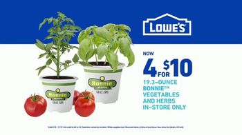 Lowe's TV Spot, 'Doing Summer Right: Vegetables and Herbs' - Thumbnail 8